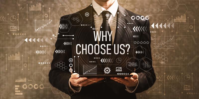 Why Choose Us image design